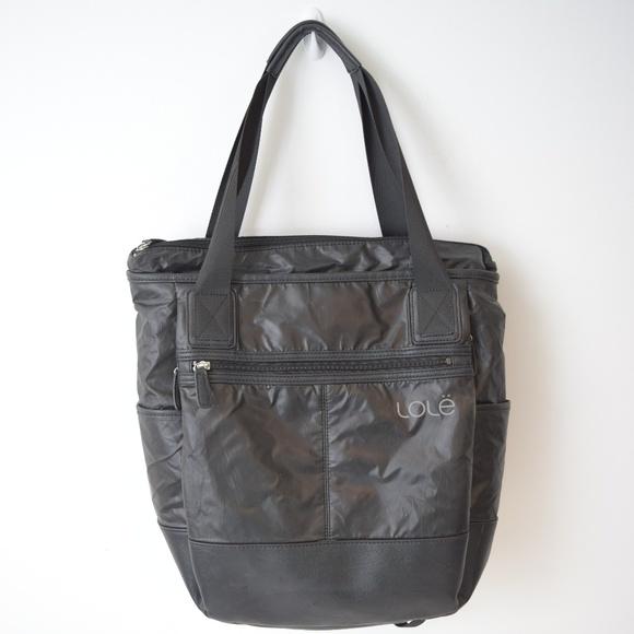 Lole Handbags - Lole Lily Backpack Gym Bag Padded Black 79065abd2faa5